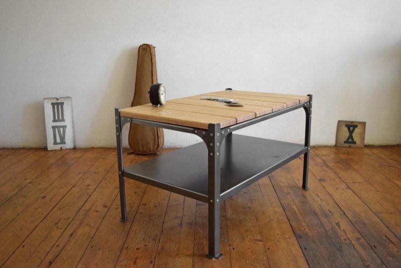 Couchtisch Bauhaus IndustrieDesign Art Deco Tisch Fabrik