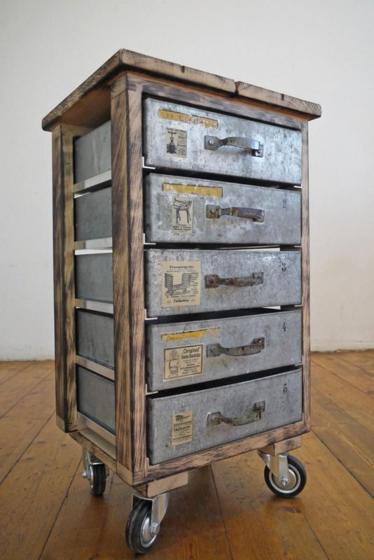rollcontainer vintage bestseller shop f r m bel und einrichtungen. Black Bedroom Furniture Sets. Home Design Ideas