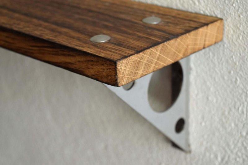 Holz Wandregal Multiunktional Genutzt