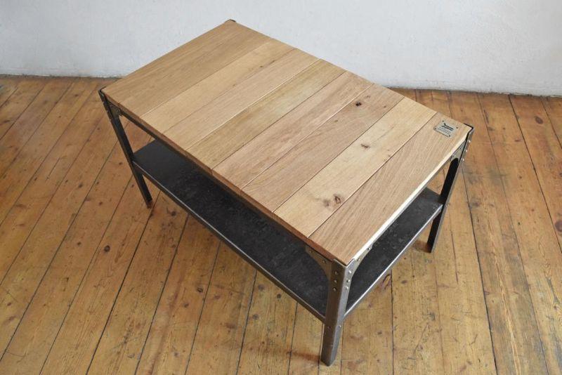 Couchtisch Bauhaus IndustrieDesign Loft Tisch Möbel Fabrik