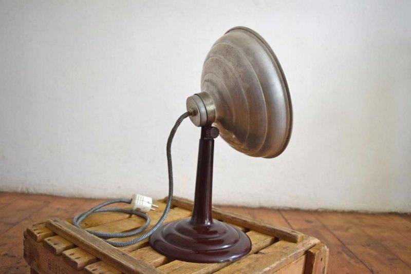 schreibtischlampe antik architektenlampe werkstattlampe vintage tischlampe alt ebay. Black Bedroom Furniture Sets. Home Design Ideas
