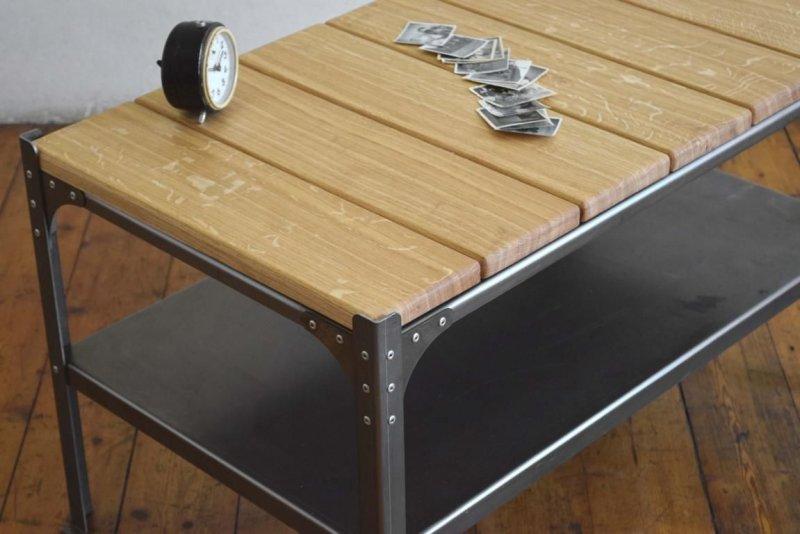 Couchtisch bauhaus industriedesign art deco tisch fabrik for Couchtisch bauhaus