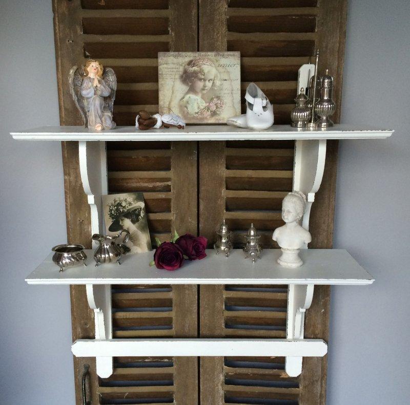 Frankreich antikes wandregal wandboard regal 75 cm for Frank dekorationsartikel