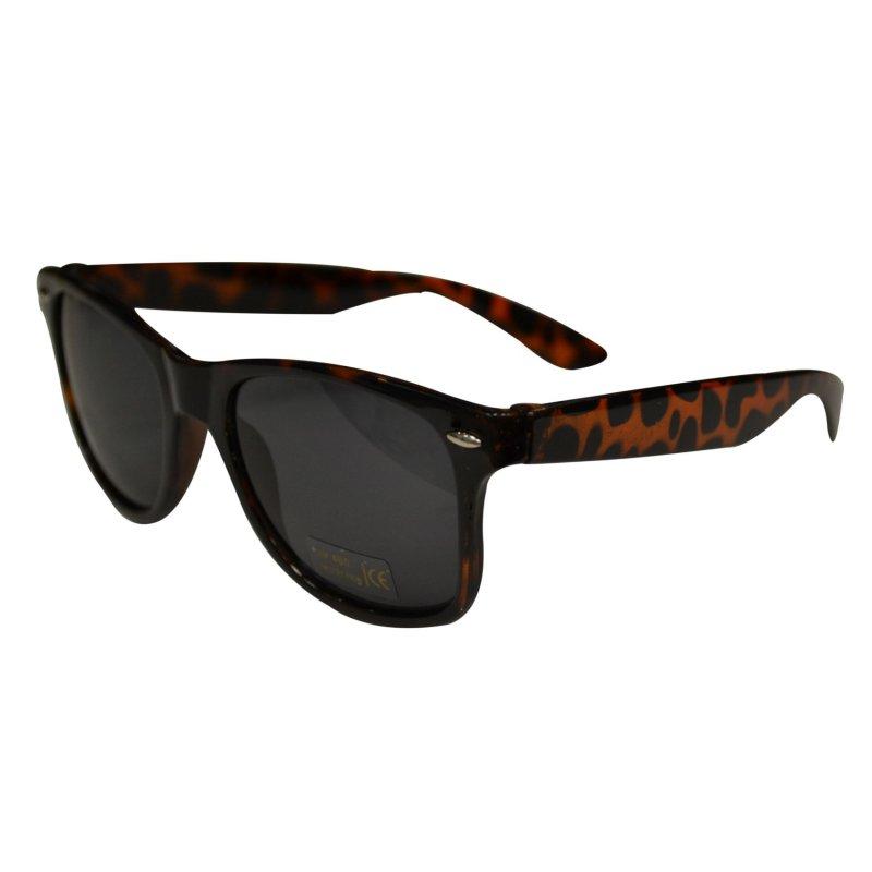 neu wayfarer leopard sonnenbrille schwarz nerd brille. Black Bedroom Furniture Sets. Home Design Ideas