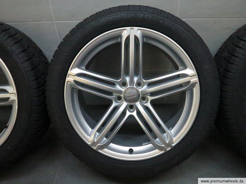 20 inch winter wheels original audi q5 sq5 8r segment tires ao 8r0601025bg ebay. Black Bedroom Furniture Sets. Home Design Ideas