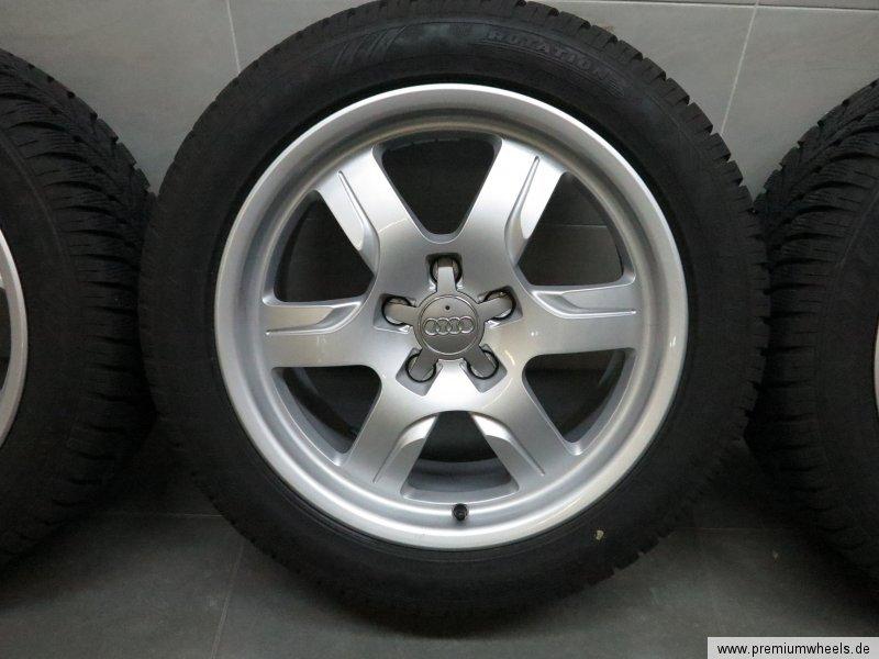 17 inch winter wheels original audi a5 s5 8t 8f tyres 7 0 7 5 mm dot 1615 ebay. Black Bedroom Furniture Sets. Home Design Ideas