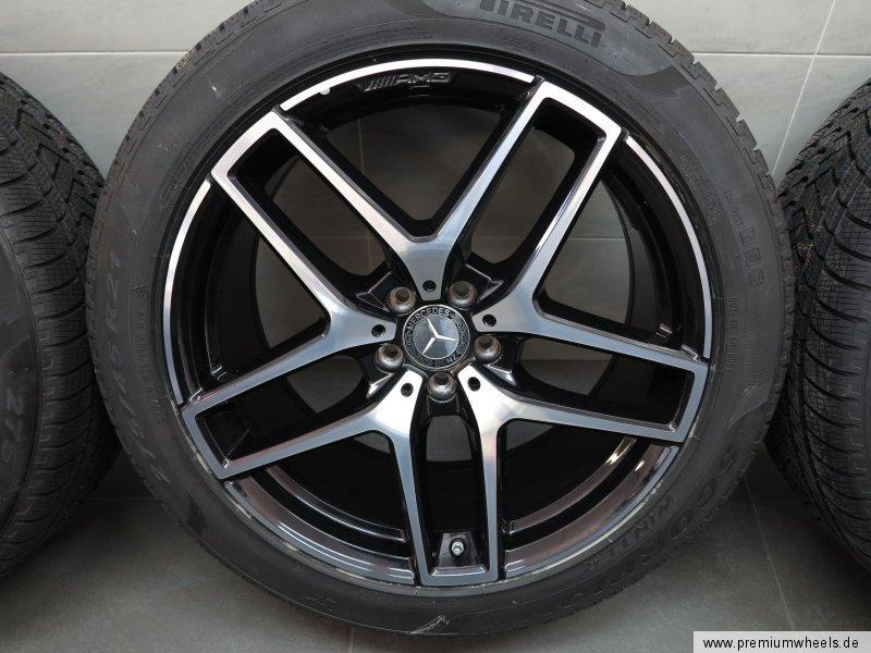 roues d 39 hiver 21 pouces originales mercedes amg gle w292 c292 coupe pneus neuf ebay. Black Bedroom Furniture Sets. Home Design Ideas