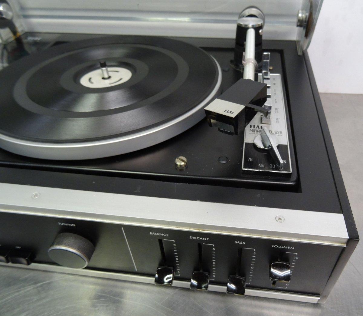 vintage hifi elac compact 20 high fidelity receiver. Black Bedroom Furniture Sets. Home Design Ideas