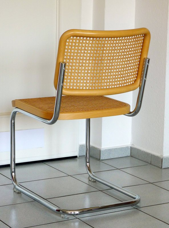 thonet s32 freischwinger bauhaus klassiker stuhl buche breuer chairs top ebay. Black Bedroom Furniture Sets. Home Design Ideas