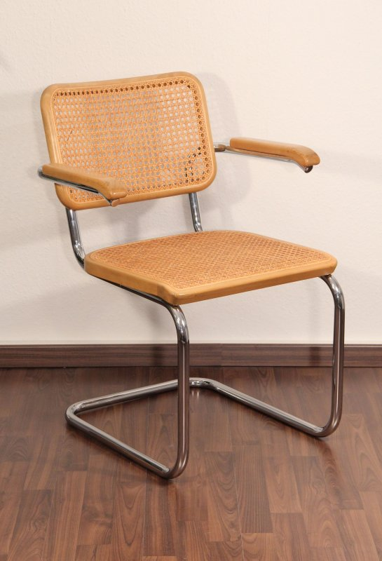 thonet s64 freischwinger bauhaus klassiker stuhl buche breuer chair top ebay. Black Bedroom Furniture Sets. Home Design Ideas
