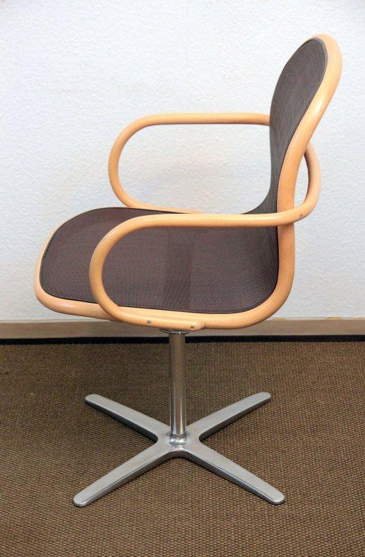 thonet loop chair a660 f drehstuhl james irvine. Black Bedroom Furniture Sets. Home Design Ideas