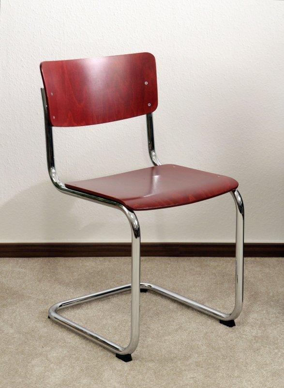 1x thonet s43 freischwinger bauhaus klassiker st hle bunt stam chairs ebay. Black Bedroom Furniture Sets. Home Design Ideas