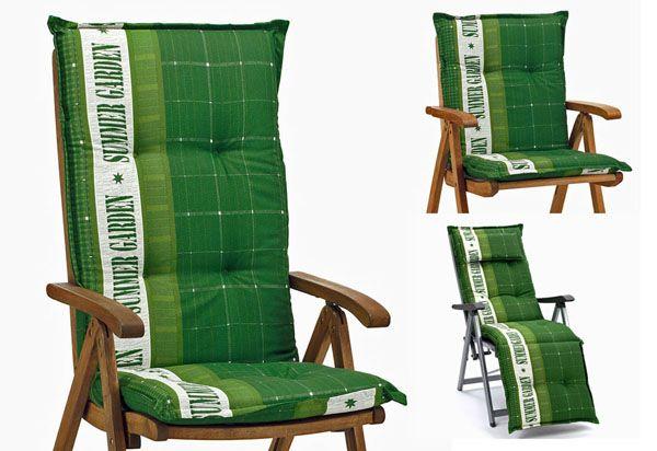 auflagen f r niederlehner sessel niedriglehner stuhlauflagen kissen sitzkissen ebay. Black Bedroom Furniture Sets. Home Design Ideas