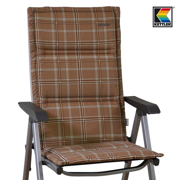 kettler basic plus gartenstuhl mit auflage klappsessel. Black Bedroom Furniture Sets. Home Design Ideas