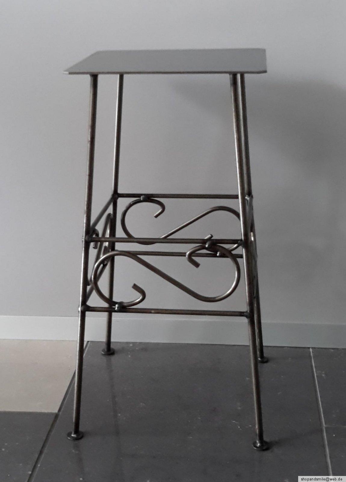 blumentisch blumenst nder metalltisch f r pflanzen 40 cm hoch sehr sch n ebay. Black Bedroom Furniture Sets. Home Design Ideas