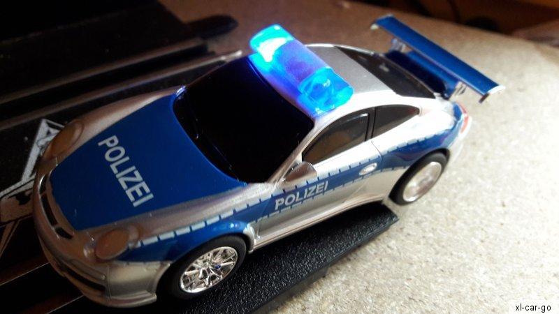carrera go polizei porsche 997 gt3 slotcar rennbahn auto. Black Bedroom Furniture Sets. Home Design Ideas