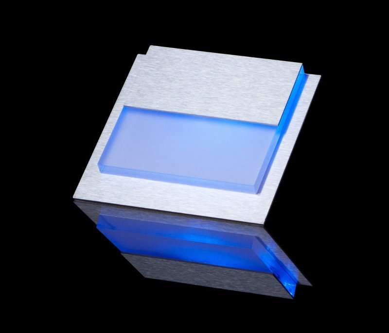 set led caro wand treppenbeleuchtung treppenlicht blau. Black Bedroom Furniture Sets. Home Design Ideas