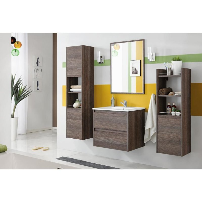 badm bel set luna 60 badezimmer badm bel waschbecken keramik badezimmerm bel ebay. Black Bedroom Furniture Sets. Home Design Ideas