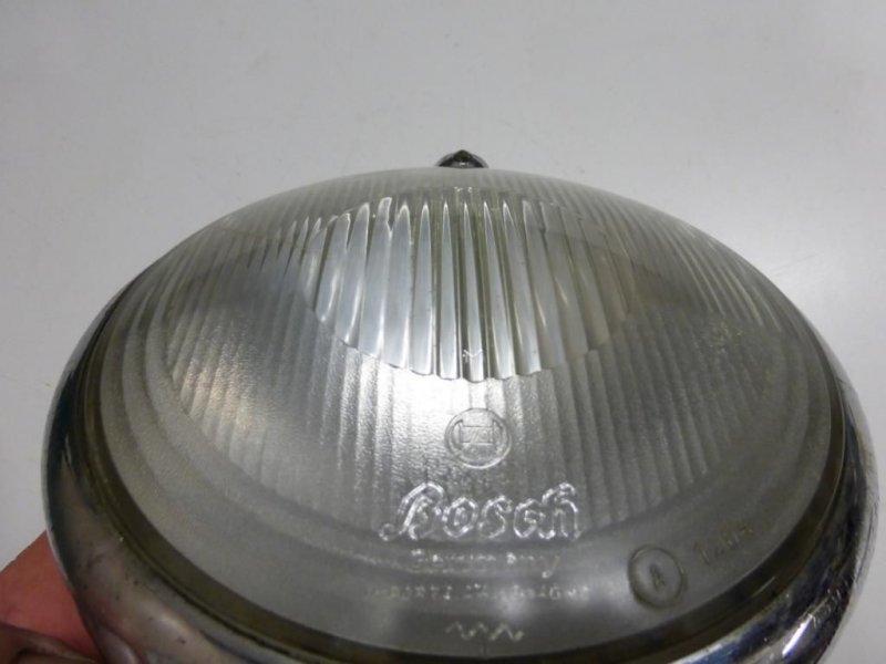 bosch scheinwerferglas mit hella versteller reflektor 160 mm bmw dkw z ndapp ebay. Black Bedroom Furniture Sets. Home Design Ideas