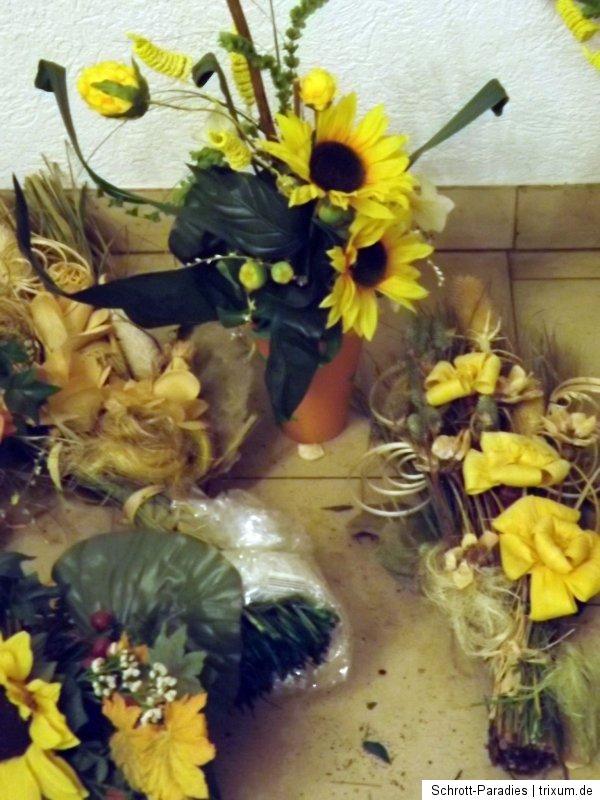 Deko SCHROTT 4 kg Sonnenblumen Basteln Tischdekoration ...