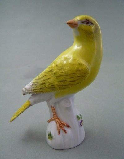 np 765 figur kanarienvogel a54 vogel meissen top 1 wahl h 10 1cm top ebay. Black Bedroom Furniture Sets. Home Design Ideas