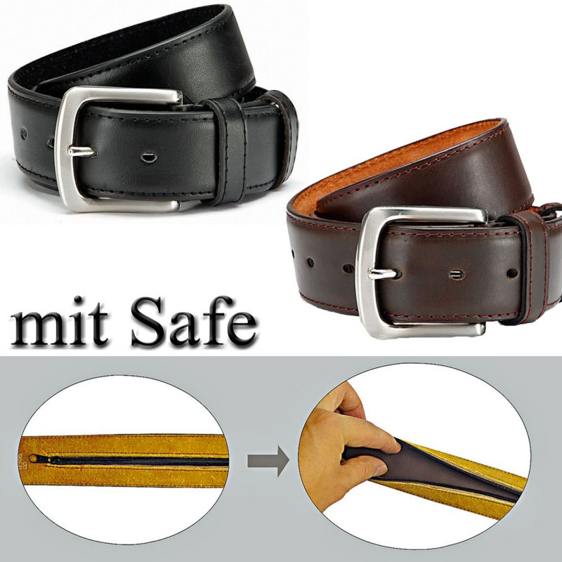 belt with belt safe 4 cm wide safety belt money belt