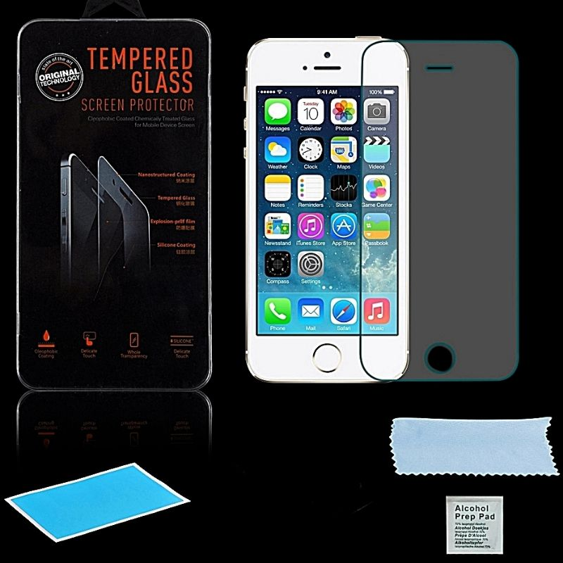 3x panzerglas f r apple iphone 5 5s 5c displayglas. Black Bedroom Furniture Sets. Home Design Ideas