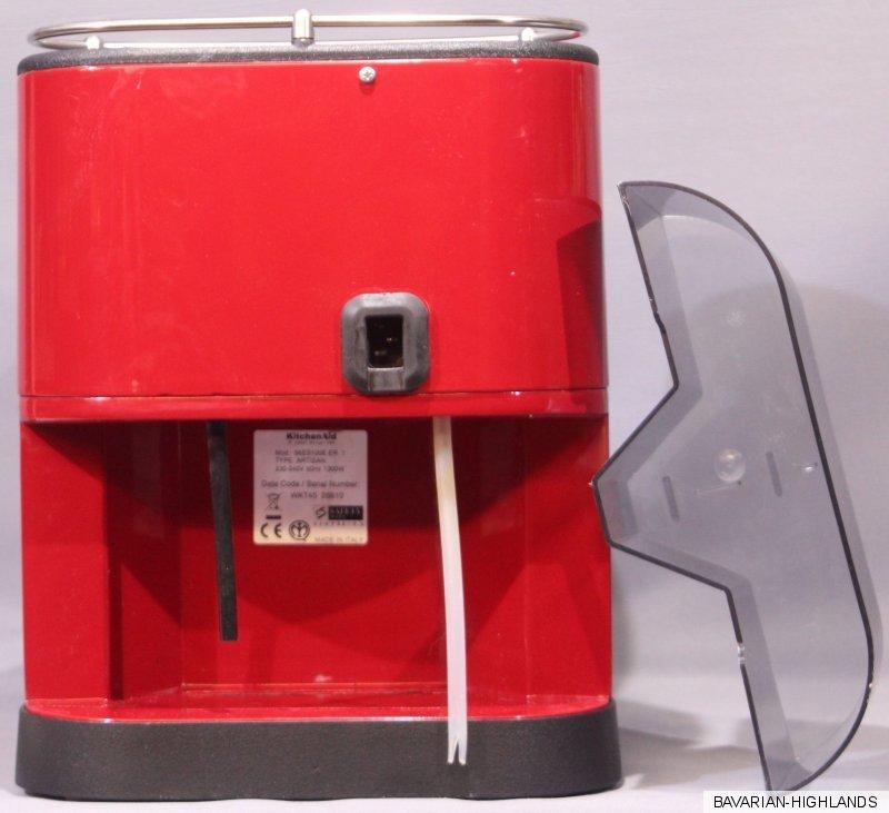 kitchenaid artisan espressomaschine 5kes100 5413184800178 ebay. Black Bedroom Furniture Sets. Home Design Ideas
