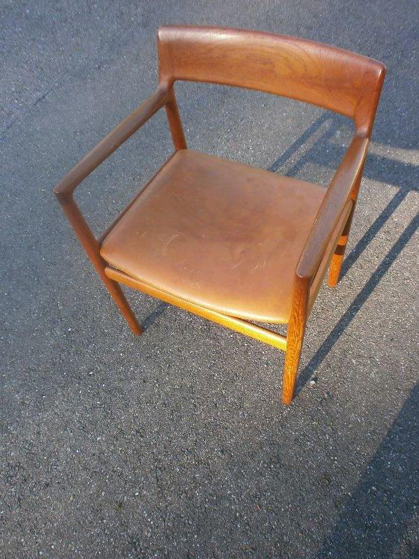 b rostuhl stuhl teak denmark 60ies teakholz d nisches design. Black Bedroom Furniture Sets. Home Design Ideas