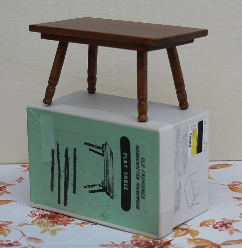 Puppenstube Filigraner Küchentisch Holz !!! 70er Jahre