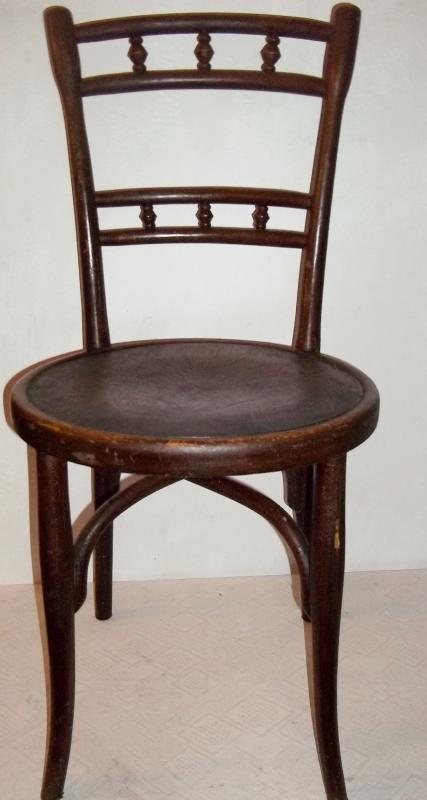 antiker stuhl thonet thonetstuhl kneipenstuhl pr gung stern ebay. Black Bedroom Furniture Sets. Home Design Ideas