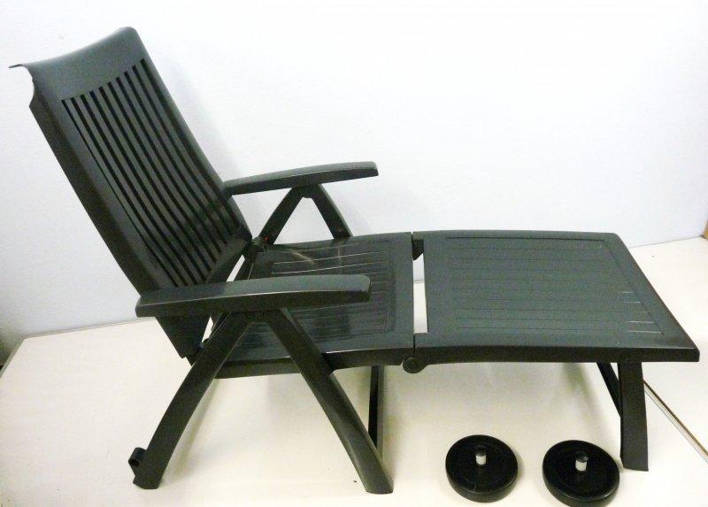kettler roma gartenliege 01638 700 klappbar sonnenliege f r garten terrasse g94 ebay. Black Bedroom Furniture Sets. Home Design Ideas