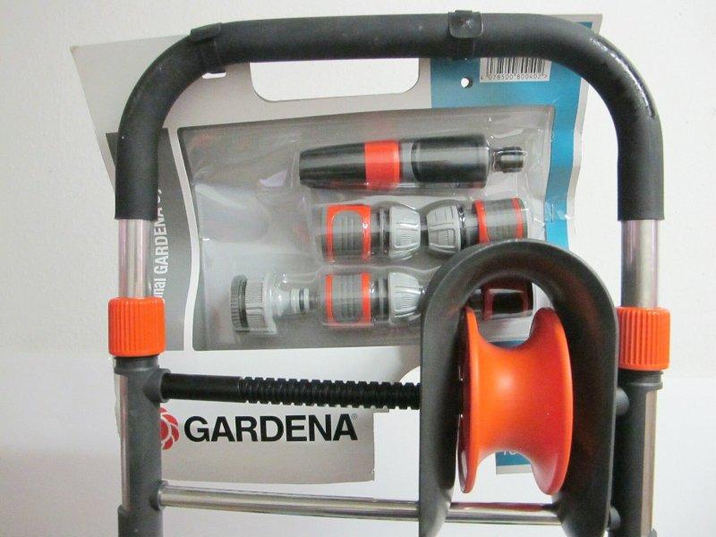 gardena 8004 20 classic schlauchwagen 60 hg set gartenschlauch halter p17. Black Bedroom Furniture Sets. Home Design Ideas