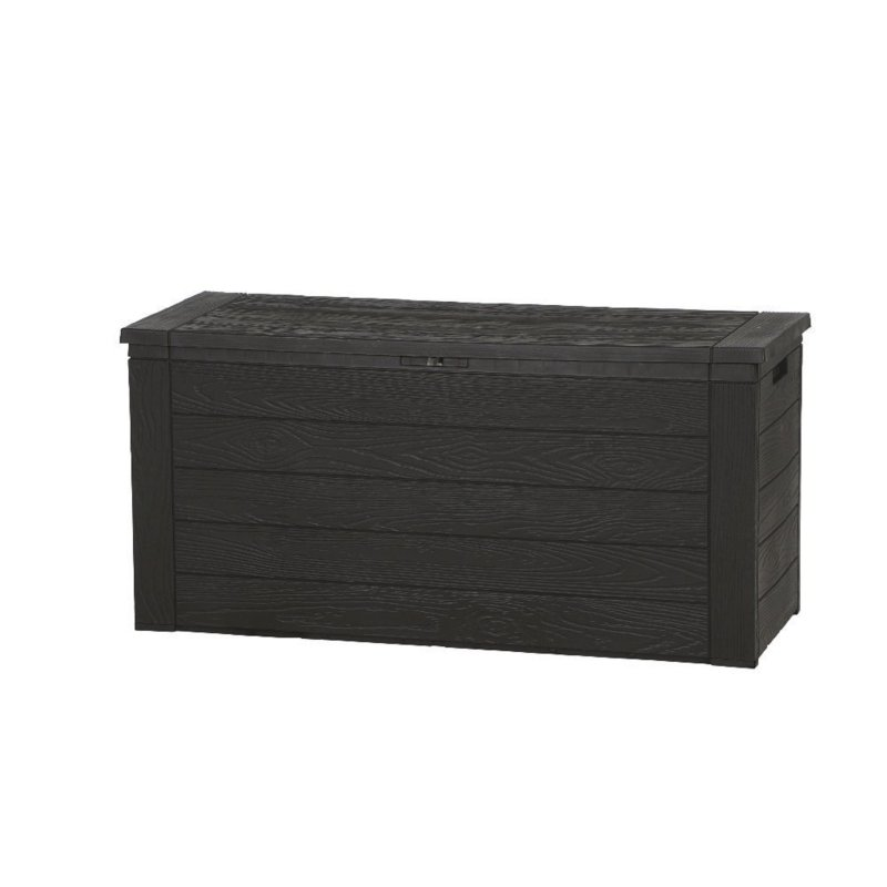 h g 2025 kissenbox woody 120 x 45 x 60 cm gartentruhe. Black Bedroom Furniture Sets. Home Design Ideas