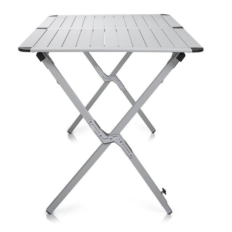 campart travel roll up aluminium tisch texas ta 0802 campingtisch garten q89 ebay. Black Bedroom Furniture Sets. Home Design Ideas