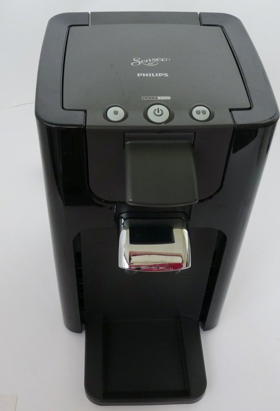 philips hd7863 60 senseo quadrante kaffeepadmaschine schwarz defekt ebay. Black Bedroom Furniture Sets. Home Design Ideas