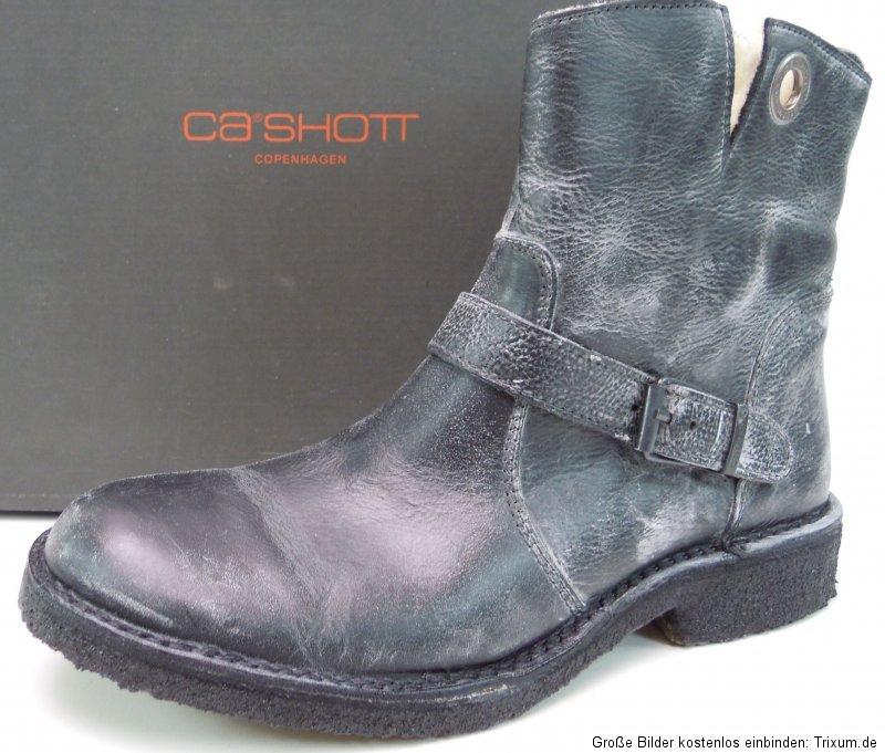 ca 39 shott 7000 damen boots biker stiefel warm gef ttert. Black Bedroom Furniture Sets. Home Design Ideas