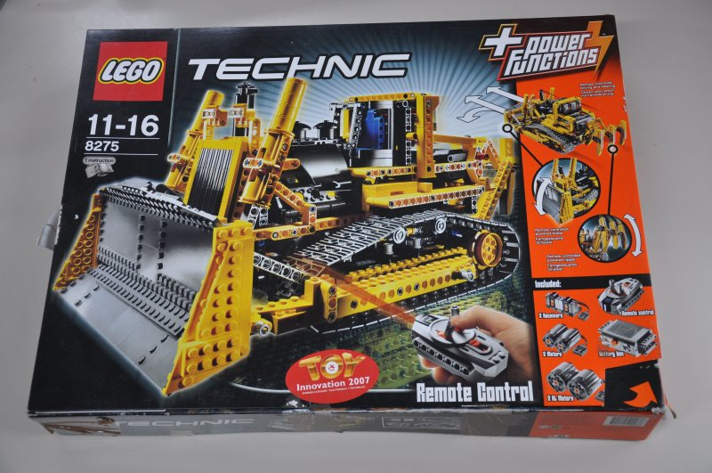 lego technic 8275 rc bulldozer mit motor von 2007 mit. Black Bedroom Furniture Sets. Home Design Ideas