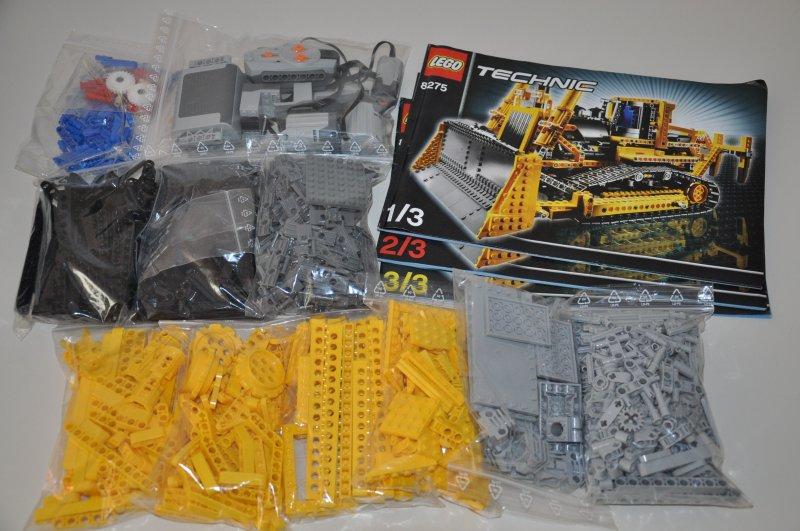 lego technic 8275 rc bulldozer mit motor motorized. Black Bedroom Furniture Sets. Home Design Ideas