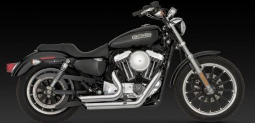 Intruderteam Auspuffanlage Vance & Hines Shortshots Staggered chrom Sportster