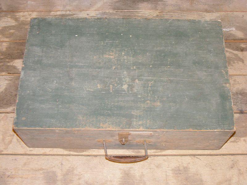 Taille xxl valise ancienne coffre en bois de voyage ann es 50 culte - Valise ancienne en bois ...