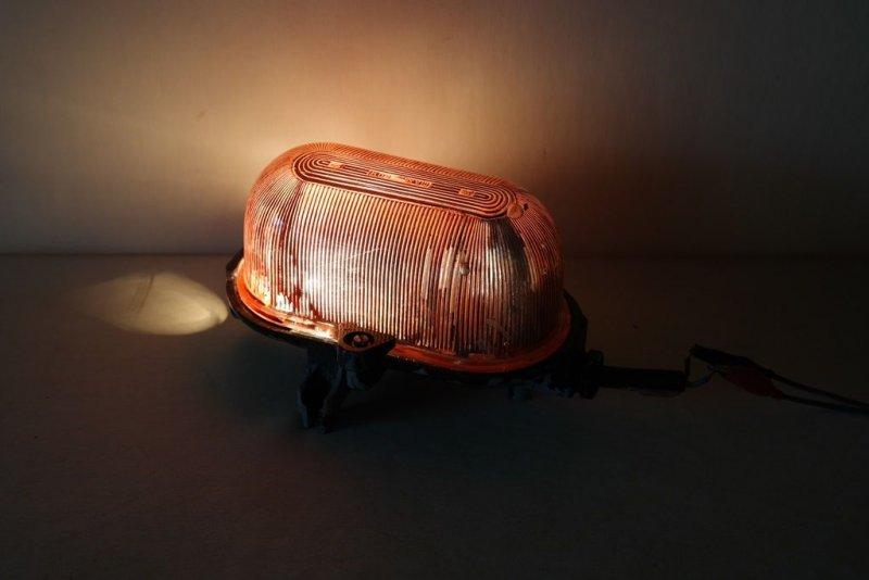 Ancienne ddr luminaire d 39 ext rieur lampe de sous sol lampe for Lampe exterieur ancienne