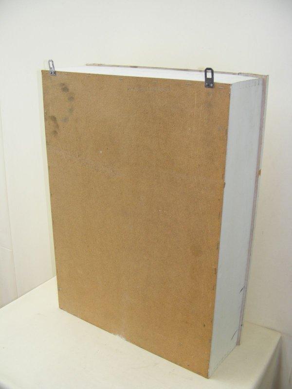 vieille armoire du docteur meuble d 39 apothicaire armoire murale ebay. Black Bedroom Furniture Sets. Home Design Ideas