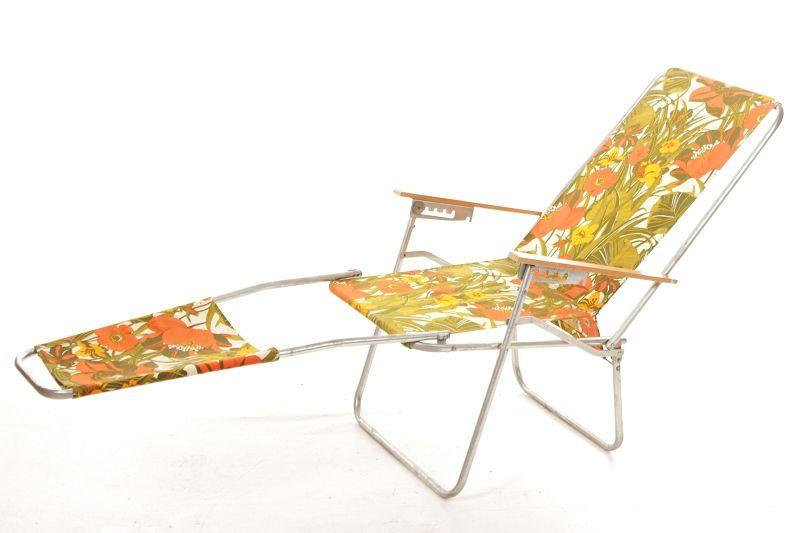 ddr chaise longue pliante culte ann es 70 camping d pliable ebay. Black Bedroom Furniture Sets. Home Design Ideas