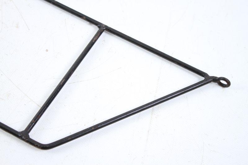 altes string wandregal 60er 70er jahre regal ablage garderobe halterung ebay. Black Bedroom Furniture Sets. Home Design Ideas