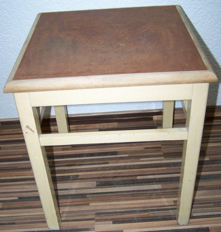 Antiguo taburete de cocina cocina madera taburete de - Taburete cocina madera ...