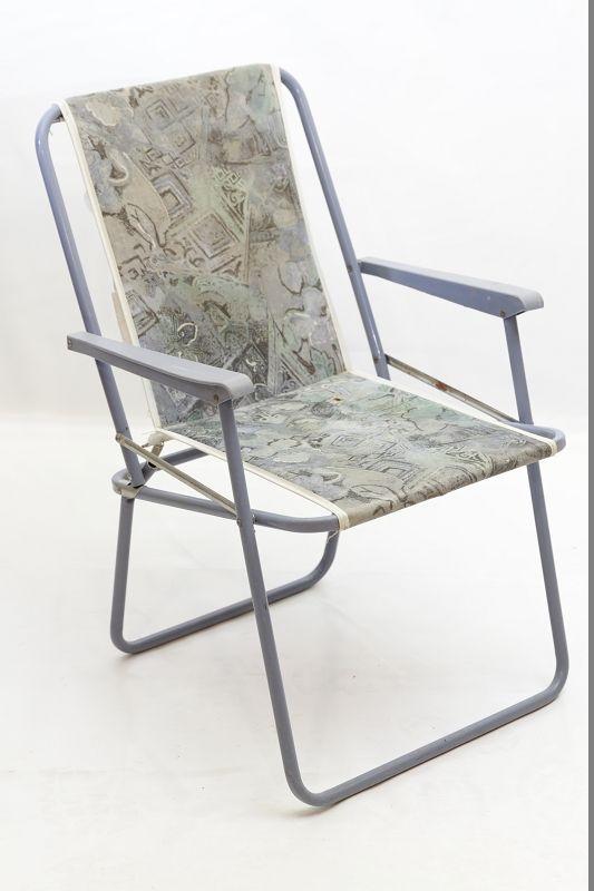 Chaise pliante rda de camping r tro culte ann es 70 for Chaise longue pliante camping