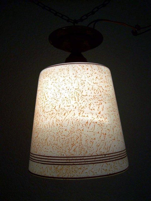 antique lampe suspension de 30 ann es 1940 ann es lampe glas en laiton ebay. Black Bedroom Furniture Sets. Home Design Ideas