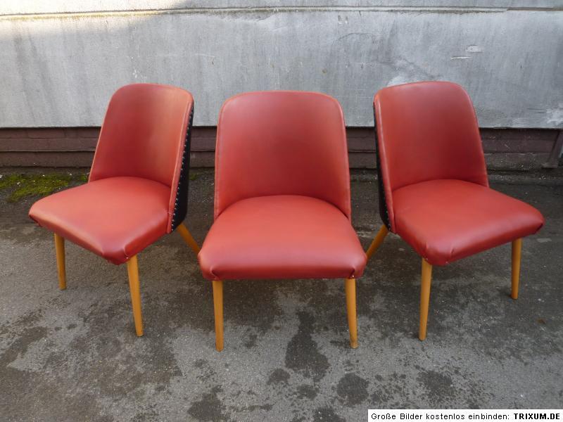 3 alte sessel st hle loungesessel cocktailsessel. Black Bedroom Furniture Sets. Home Design Ideas