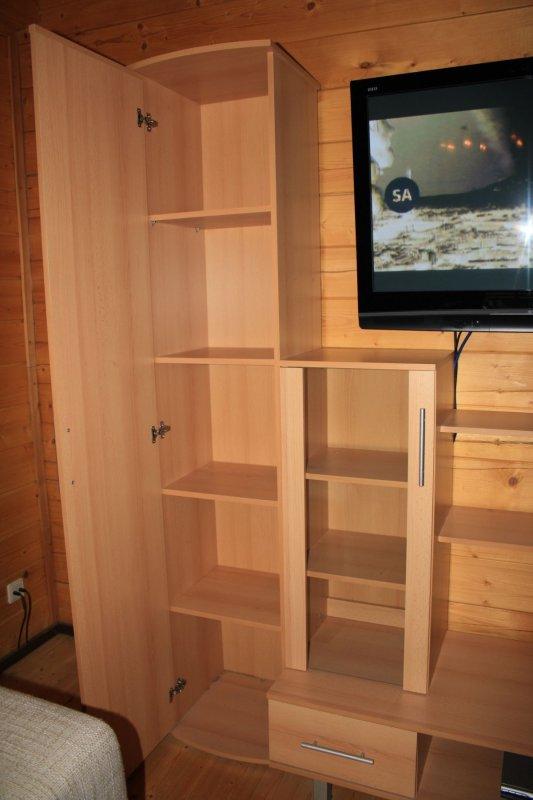Anbauwand wohnwand schrankwand sideboard buche for Gebrauchte anbauwand